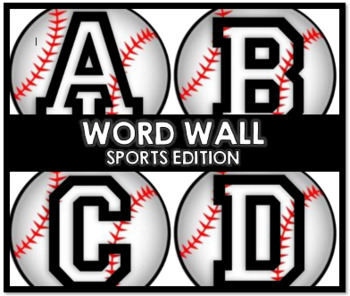 Word Wall (Sports Edition)