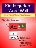 Word Wall: Superhero Edition