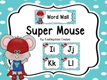 Word Wall -Super Mouse
