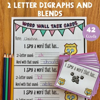 Word Wall Task Cards