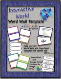 GO Tech! Word Wall Template -EDITABLE
