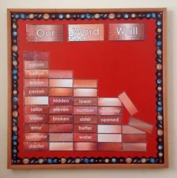 Word Wall Templates