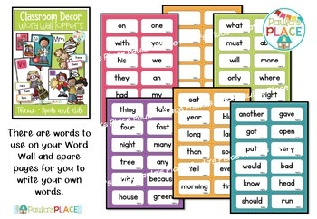 Word Wall Toppers