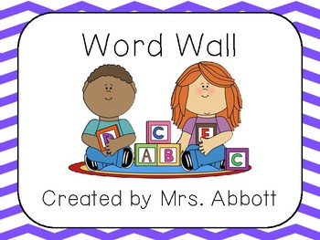 Word Wall Total Package