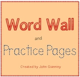 Word Wall Tracing and Practice Pages