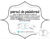 Word Wall, Tricky Words, Palabras Tramposas en Espanol