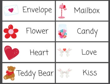 Word Wall Valentine's Day