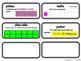 Word Wall Vocab Cards Go Math! Grade 5 Ch.4