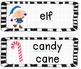 Word Wall Vocabulary - Christmas