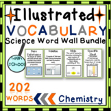 Word Wall Vocabulary Posters for All CHEMISTRY Units HIGH SCHOOL 202 WORDS!!!