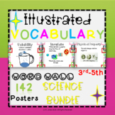 Word Wall Vocabulary Posters for Science Grades 3, 4, 5
