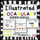 Word Wall Vocabulary Posters for Science Grades Kinder, 1st and 2nd