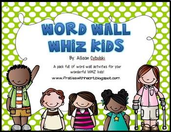 Word Wall WHIZ Kids