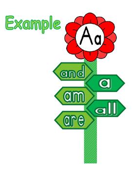 Word Wall: Watch Our Words Grow  - Kindergarten Journeys Sight Words