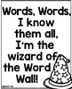Word Wall Wizard {Interactive Sight Word Game}