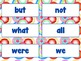 Word Wall Word Cards Fry's First 100 Sight words Primary c
