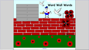 Word Wall Word Pages_SMART Notebook