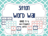 Word Wall/Word Work Cards Levels 4-6 {Sitton High Frequenc