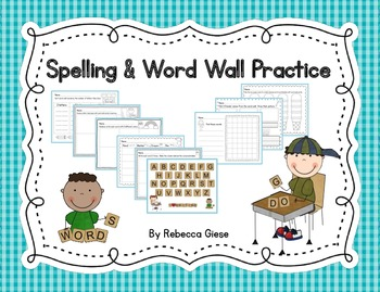 Spelling and Word Wall Practice