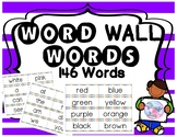 Word Wall Words (146 WORDS