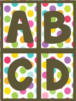 Word Wall Words Alphabet