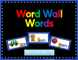 Word Wall Words - BLUE