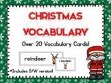 Word Wall Words: Christmas Vocabulary
