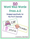 PreK Word Wall