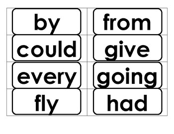 Word Wall Words-Dolch First Grade Words