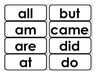 Word Wall Words-Dolch Primer Words