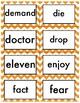 Fry Words Fourth Grade Chevron Theme List 3