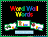 Word Wall Words - GREEN