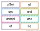 Word Wall Words (Grade 1) Complete Package [Headings & Word Cards] - Editable