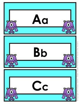 Word Wall Word Cards and Alphabet Cards - Grade 1 (1st Grade)