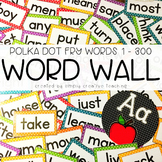 Editable Fry Sight Words & Headers for Word Walls