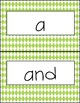 Word Wall Words - Pre-Kindergarten - Portrait format