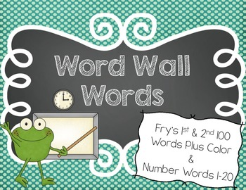 Word Wall Words and Alphabet Headers