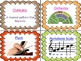 Word Wall Words for the Music Classroom