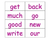 Word Wall Words (second set of high frequency words)