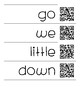 Word Wall Words with QR Codes