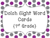 Word Wall Words/Dolch Sight Words {1st Grade}