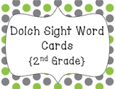 Word Wall Words/Dolch Sight Words {2nd Grade}
