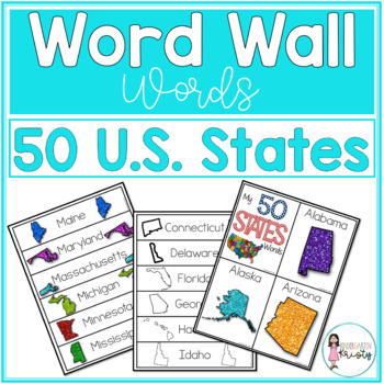Word Wall Words_50 States