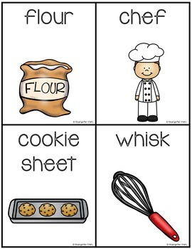 Word Wall Words_Cooking