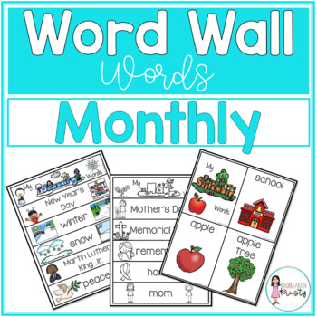 Word Wall Words_Monthly