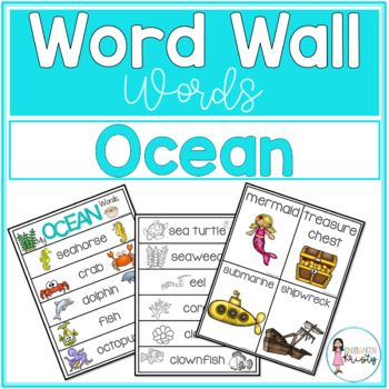 Word Wall Words_Ocean
