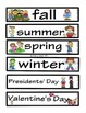 Word Wall Words_Seasons & Holidays