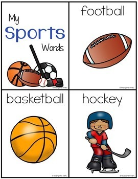Word Wall Words_Sports