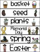 Word Wall Words_Spring