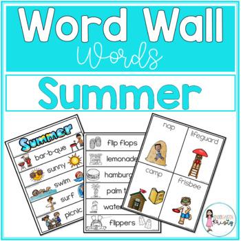 Word Wall Words_Summer